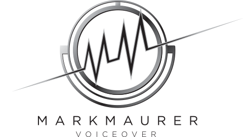 Mark Mauer Voiceover Logo