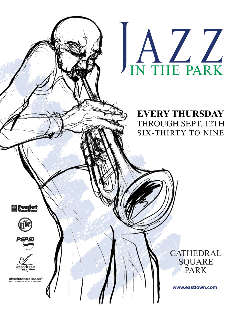 Jazz In The Park Advertisement