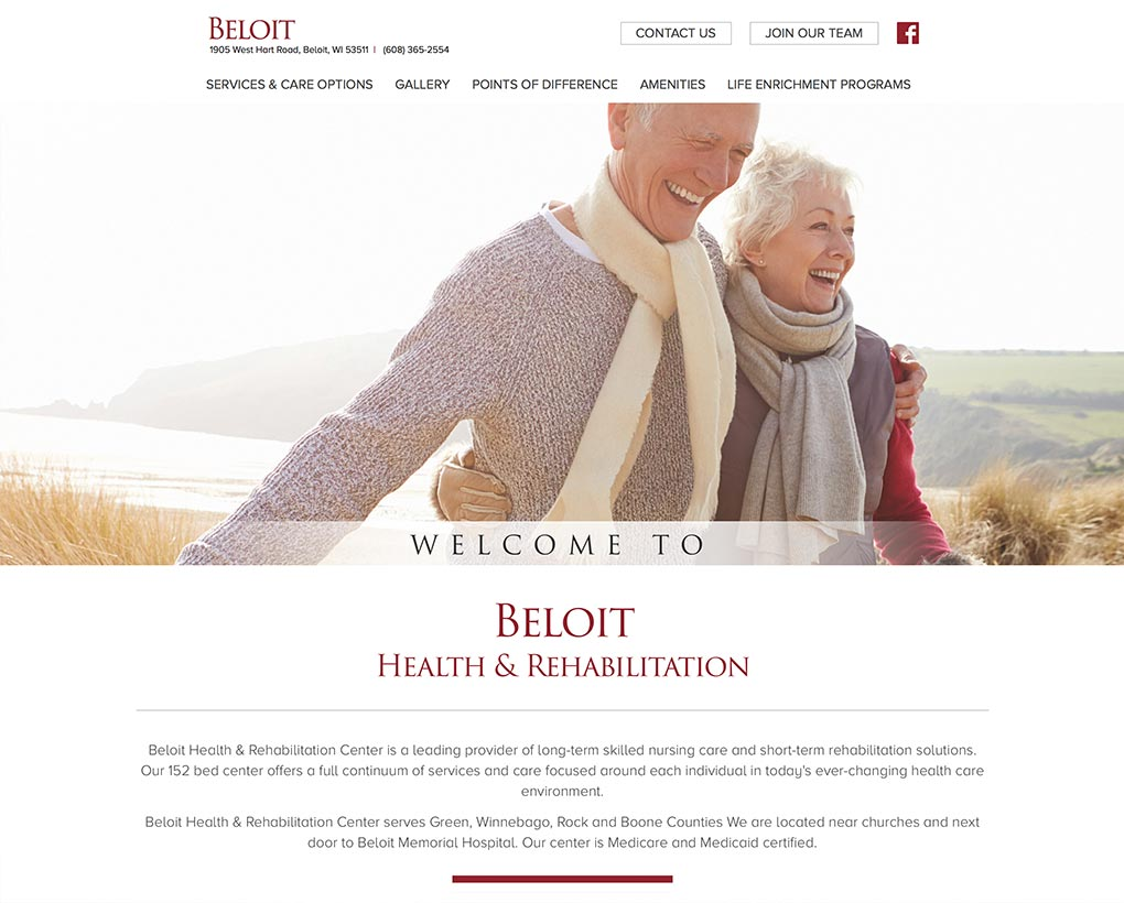Beloit Skilled Nursing Website