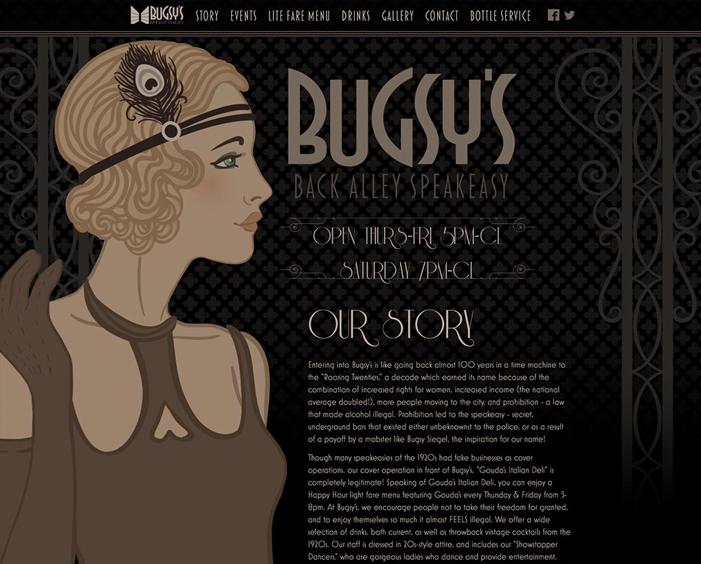 Bugsys Website