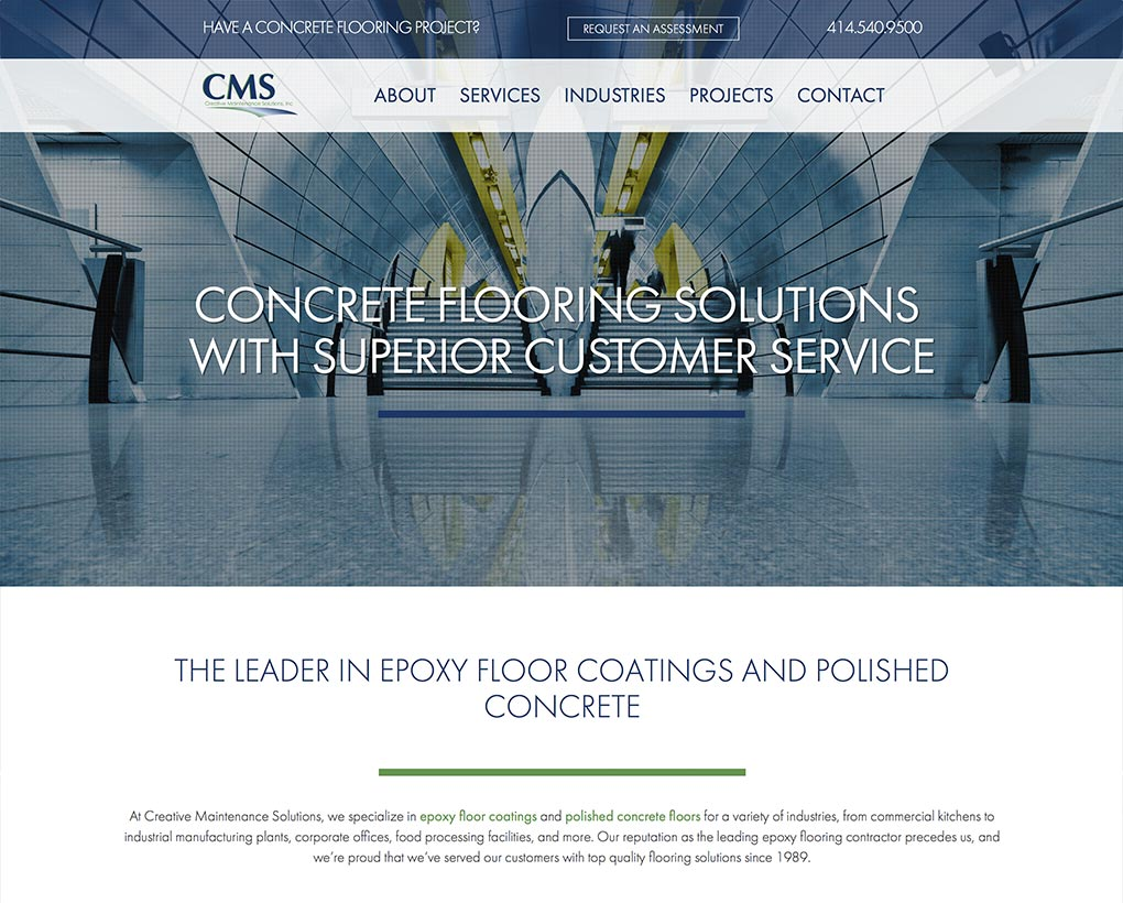 Creative Maintenance Solutions Website