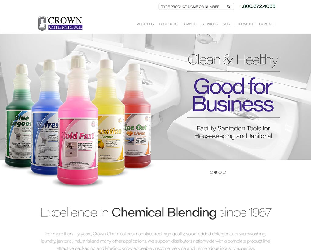 Crown Chemical Website