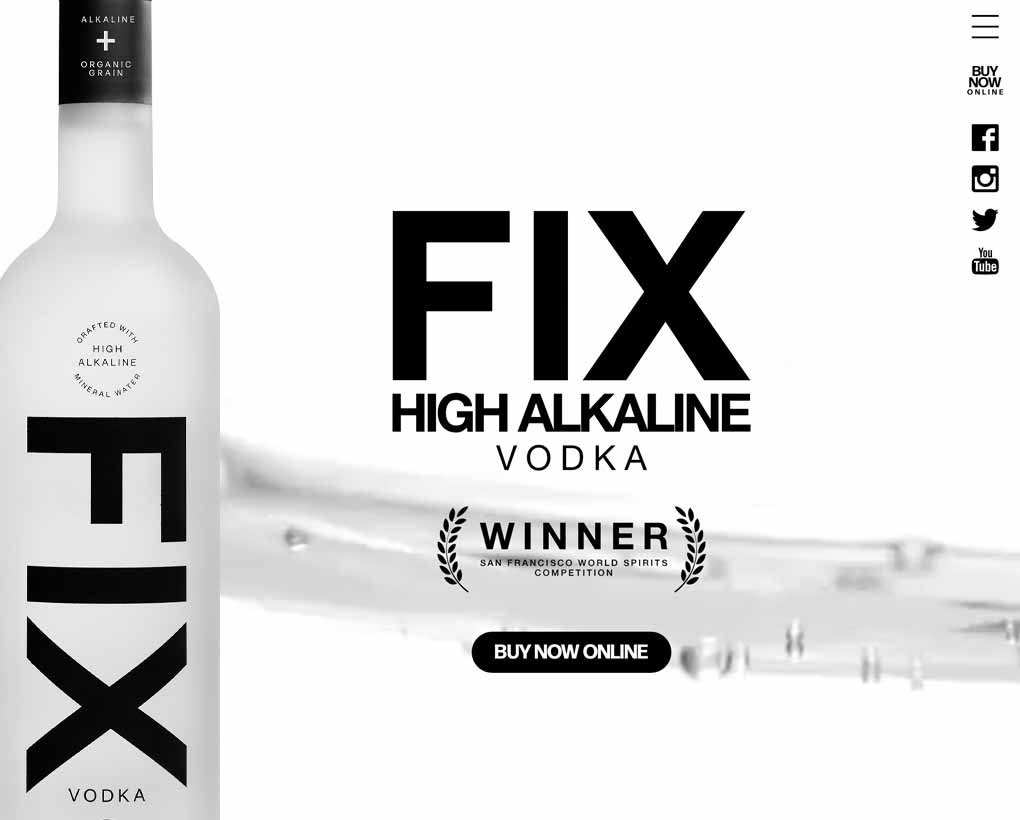 Fix Vodka Website