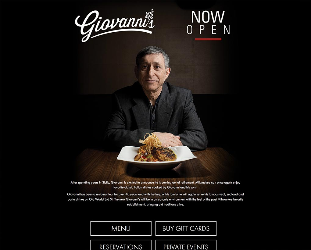 Giovanni's Website