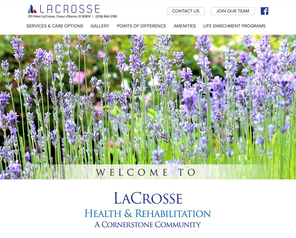 LaCrosse Health & Rehabilitation Website