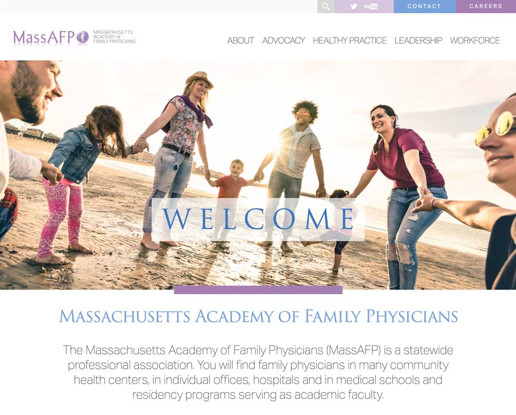 Massachusetts Academy of Family Physicians Website