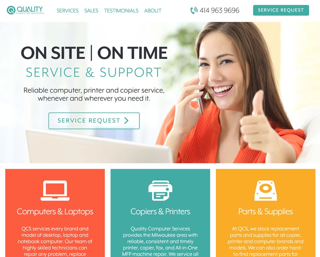 Quality Computer Services Website