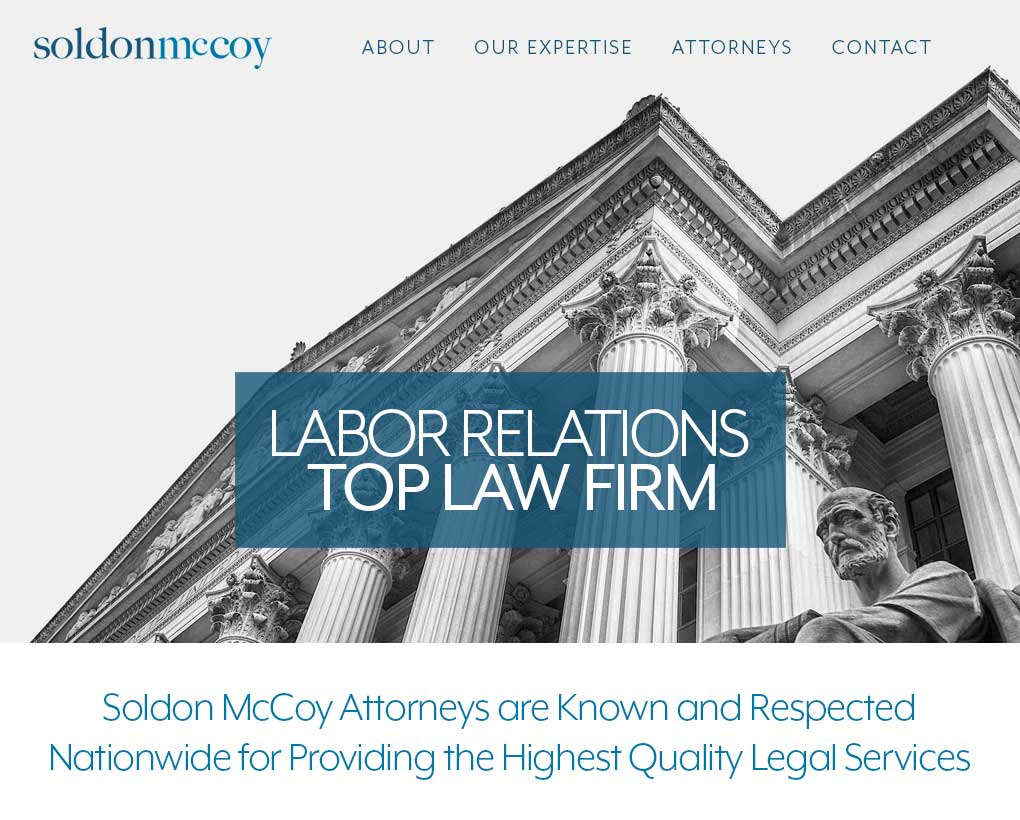 Soldon McCoy Lawyers, LLC Website