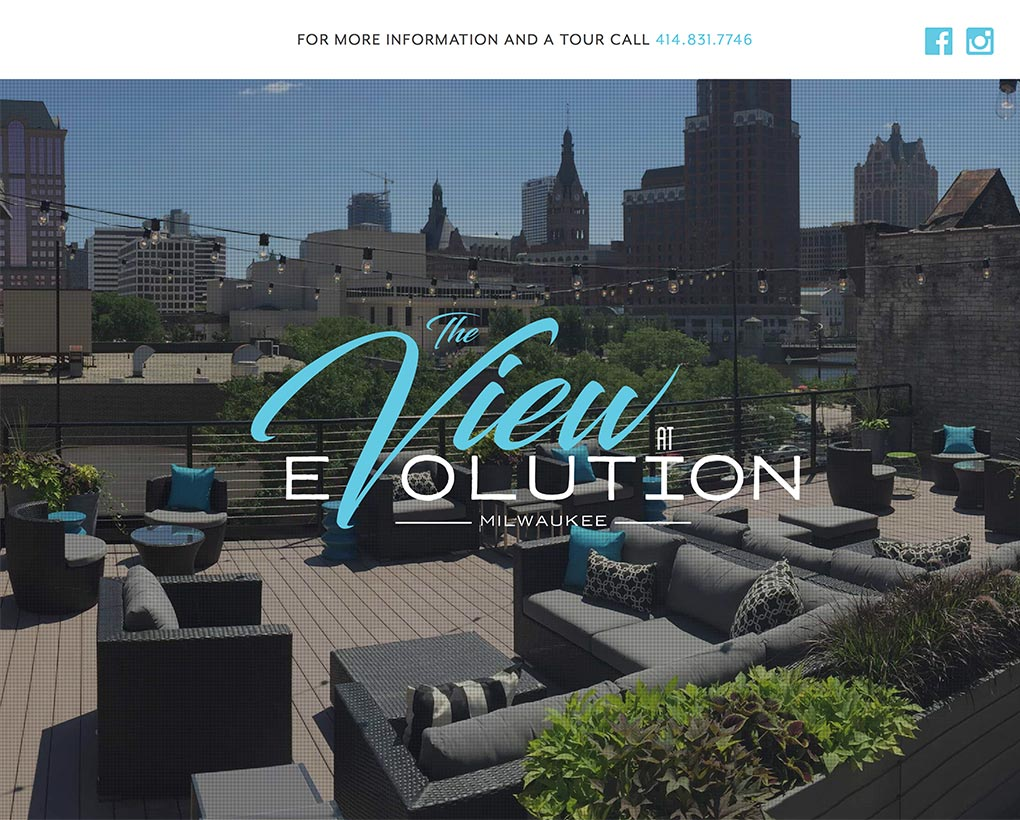 The View at Evolution Website