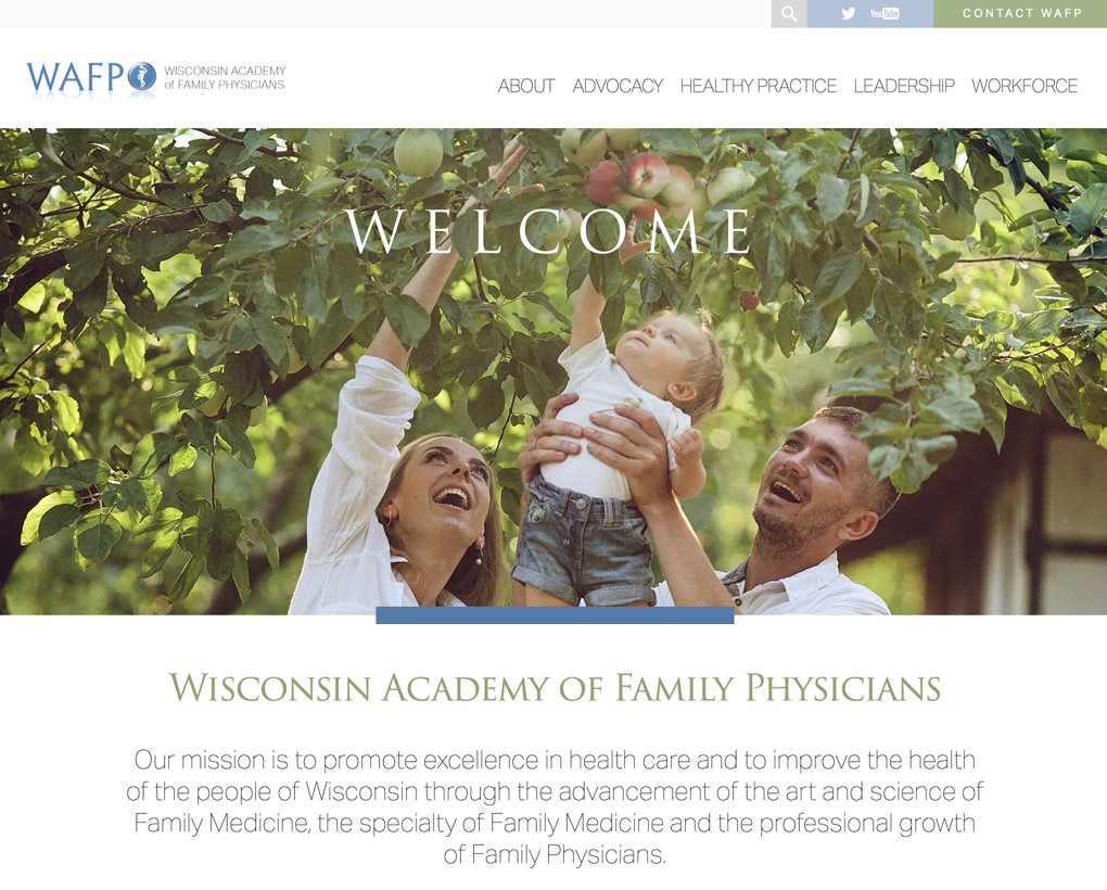 Wisconsin Academy of Family Physicians Website