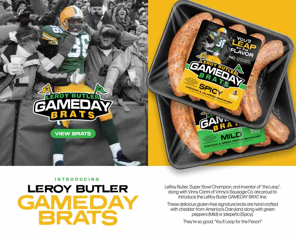 LeRoy Butlet Game Day Brats Website